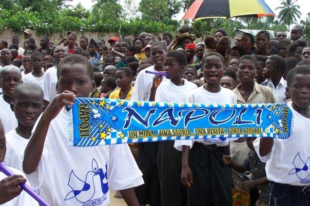 forza napoli in  Congo