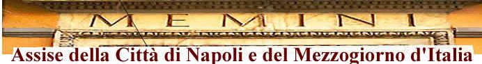 Assise della Città di Napoli e del Mezzogiorno